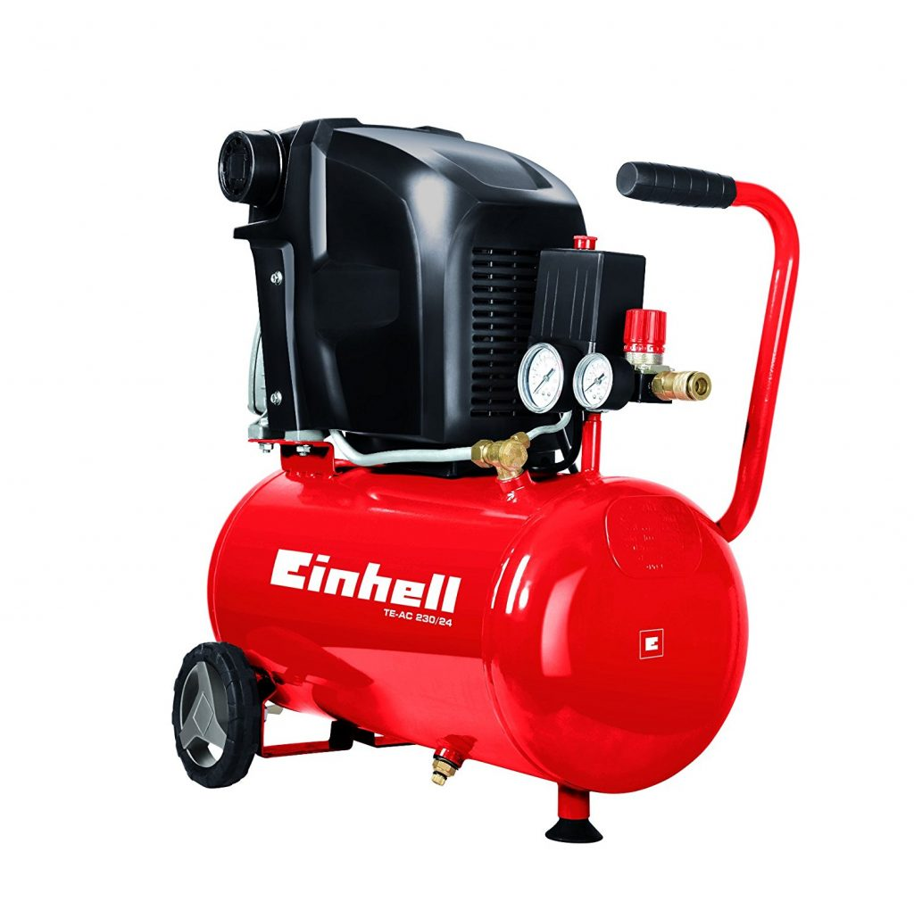 Manguera de compresor Einhell 10m, con compresores de 6 mm
